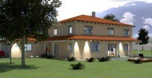 Neubauplanung Wohnhaus 3D, Energieberater Nürnberg Erlangen Hof Selb