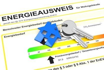 Energieausweis für Wohngebäudemit Schlüssel