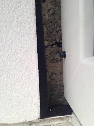 Energetische Sanierung eines Fensteranschlusses, Energieberatung in Bayreuth