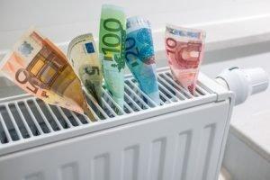 Geldsparen Heizkörper mit hydraulischem Abgleich