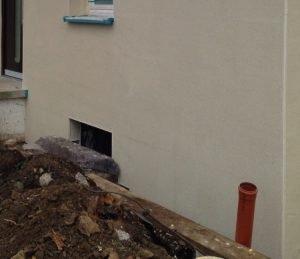 Schimmel Ursachen vorbeugen durch Sanierung der Außenwand mit WDVS, Gutachter Schimmel