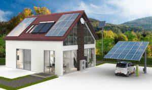 Energieversorung am Einfamilienhaus, Neubauplanung eines Plusenergiehauses