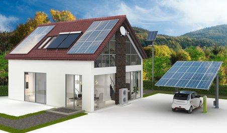 Neubauplanung Energieversorung am Einfamilienhaus, Energieberater HOf Erlangen Nürnberg Amberg