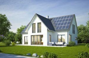 Wohnhausneubau mit PV-ANlage auf dem Dach, Neubauplanung, Energieberater aus Hof