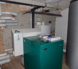 Einbau einer Kraft-Wärme-Kopplung in Denkmalschutz Gebäude