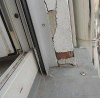 Isolierglas Fenster mit Rollladen, Schimmelpilzbefall am Fensterleibung, Energieberater Hof bis Nürnberg