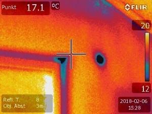 Luftdichtheitsmessung Thermografie, Leckageortung Fensterelement, Energieberater Erlangen Fürth, Nürberg Hof Selb