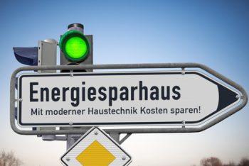 Förderanträge,Energieausweis - Signal grün für