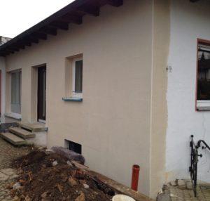 Fassadensanierung WDVS, Energieberatung Effizienzhaus Hof