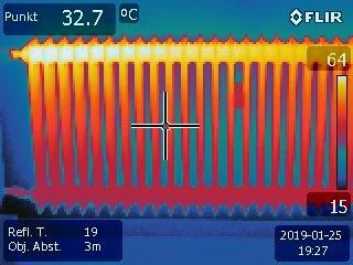 Heizkörper Thermografie, Leckageortung, Bauthermografie Nürnberg Hof