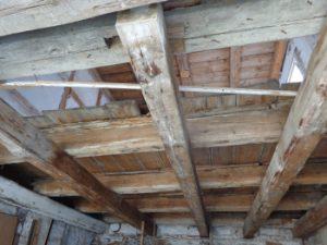 Holzbalkendecke Schimmel, Gutachter Hof, Nürnberg Erlangen Amberg
